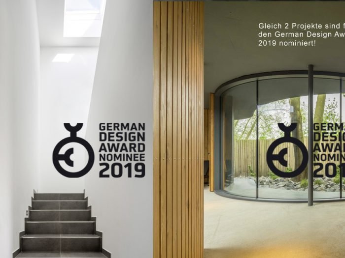 Zwei Mal für den German Design Award nominiert